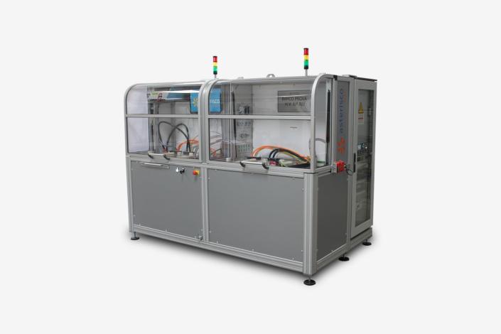 Banco prova caricabatterie integrati